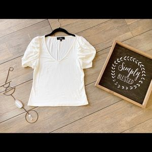 Women's Short Sleeve Blouse-Made in the USA